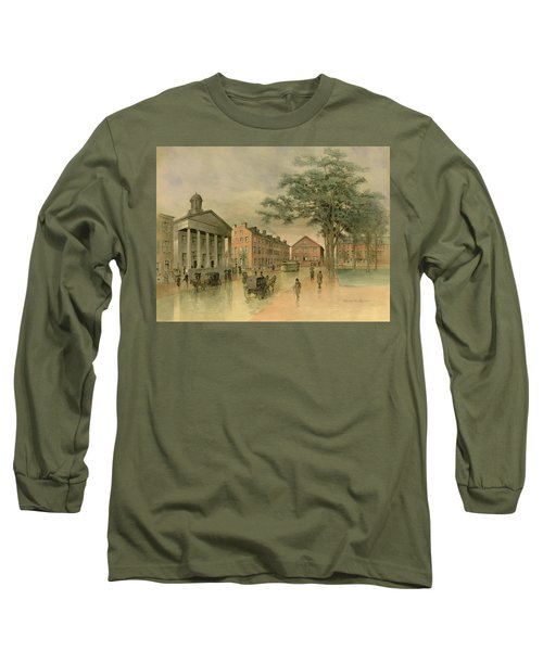 A Southwestern View Of Washington Square Long Sleeve T-Shirt