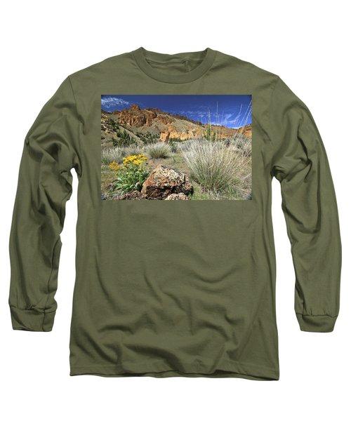 Above Juniper Gulch Long Sleeve T-Shirt