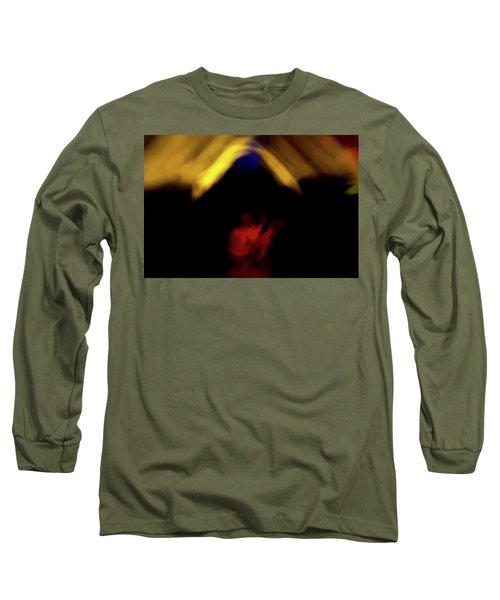 Abstract 45 Long Sleeve T-Shirt
