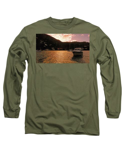 Abstractions Of Coral Bay Long Sleeve T-Shirt