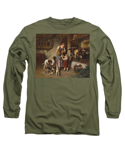 Adolf Eberle, Fresh Milk Long Sleeve T-Shirt