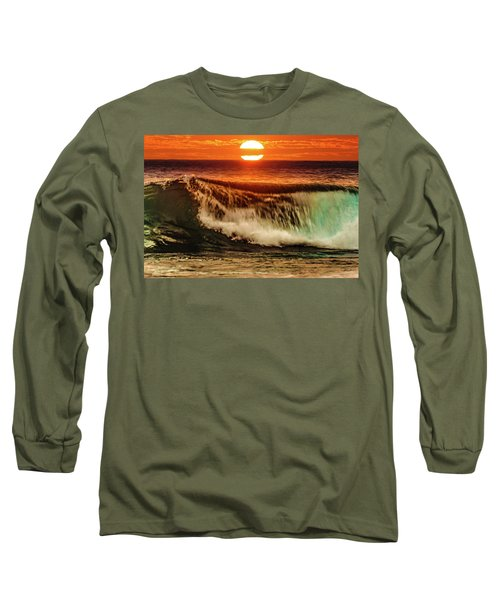 Ahh.. The Sunset Wave Long Sleeve T-Shirt