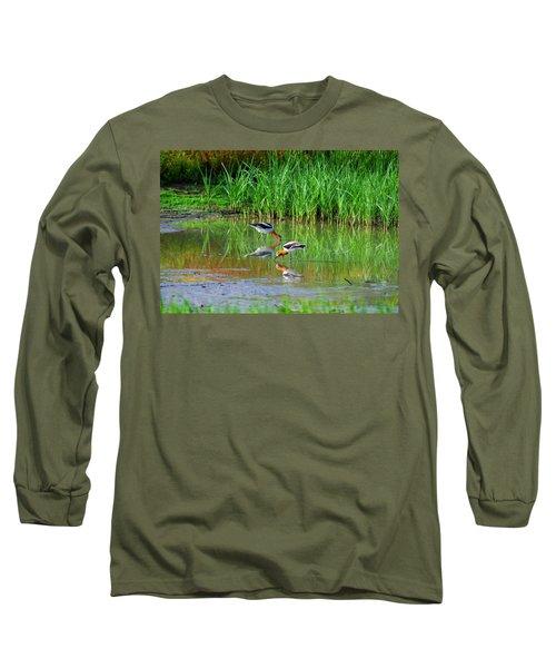 American Avocets Long Sleeve T-Shirt