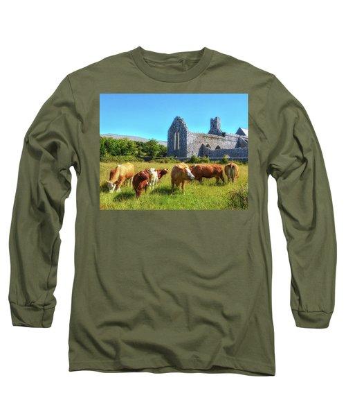 Ancient Cows Long Sleeve T-Shirt
