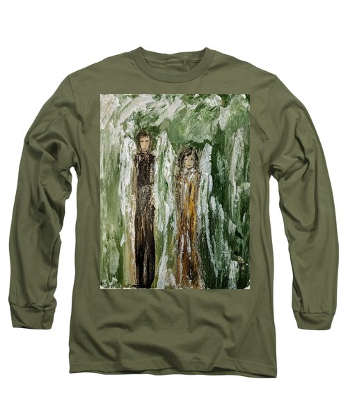 Angels For Support Long Sleeve T-Shirt