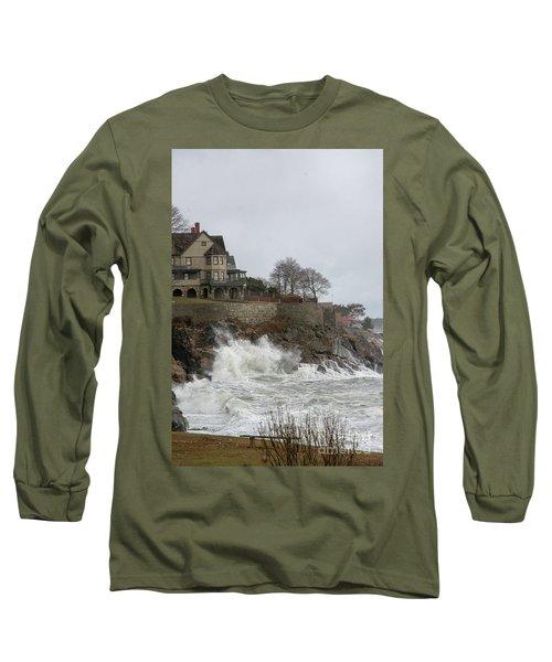 Angry Splash Long Sleeve T-Shirt
