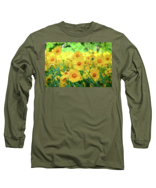 Another Glimpse, Pollinator Field Long Sleeve T-Shirt