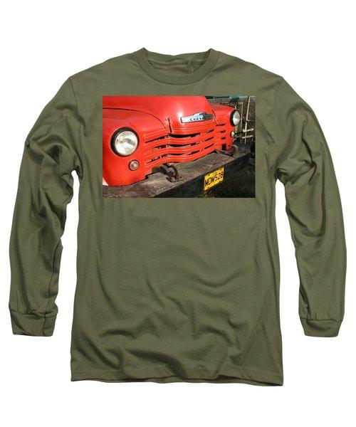 Antique Truck Red Cuba 11300502 Long Sleeve T-Shirt