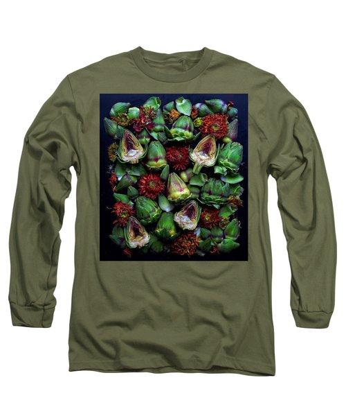 Artichoke Art Long Sleeve T-Shirt