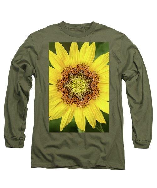 Artistic 2 Perfect Sunflower Long Sleeve T-Shirt