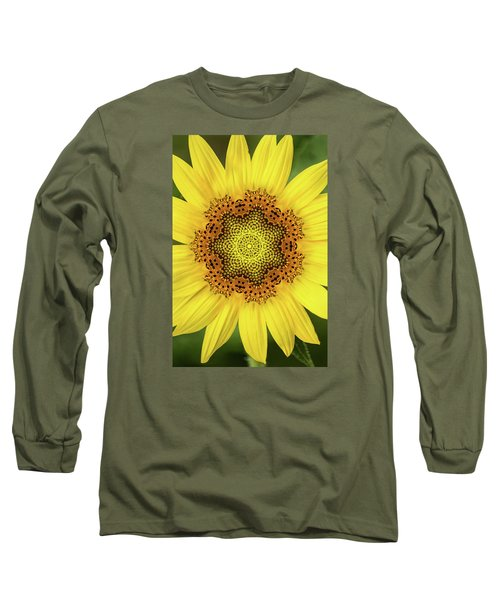 Artistic 2 Perfect Sunflower Long Sleeve T-Shirt