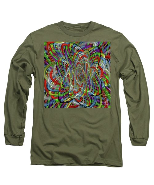 Long Sleeve T-Shirt featuring the photograph Astray Colors by Rockin Docks