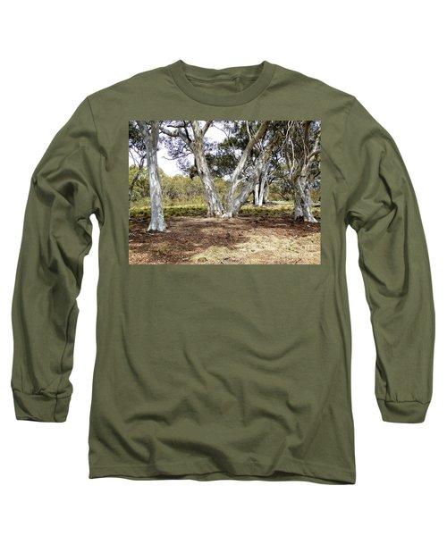 Australian Bush Scene Long Sleeve T-Shirt