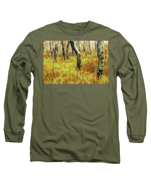 Autumn At Craggy Gardens Ap Long Sleeve T-Shirt