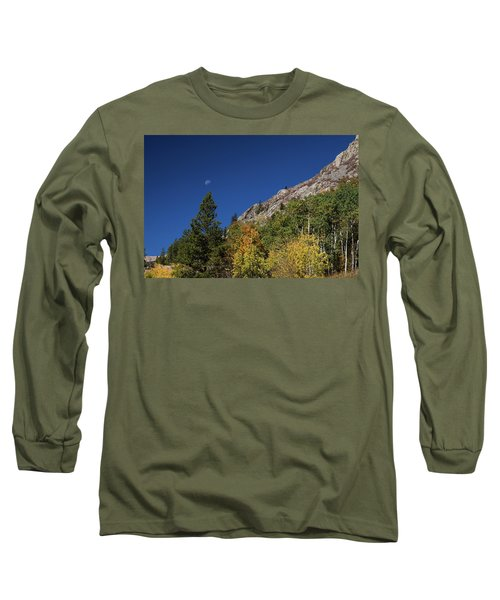 Long Sleeve T-Shirt featuring the photograph Autumn Bella Luna by James BO Insogna