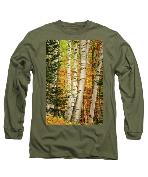 Autumn Birch Long Sleeve T-Shirt