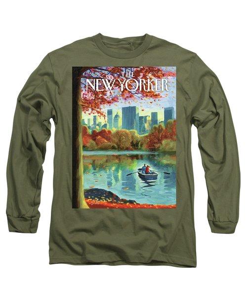 Autumn Central Park Long Sleeve T-Shirt