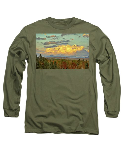 Autumn Clouds Over Maine Long Sleeve T-Shirt
