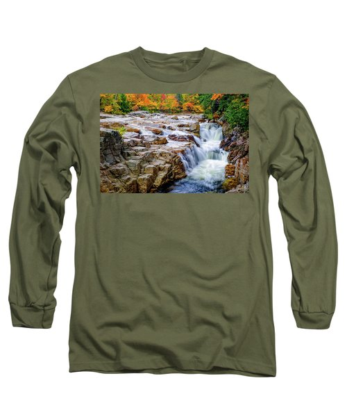 Autumn Color At Rocky Gorge Long Sleeve T-Shirt