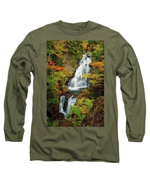 Autumn Falls, Crystal Cascade Long Sleeve T-Shirt