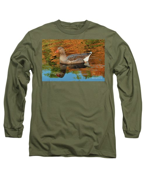 Autumn Swim Long Sleeve T-Shirt