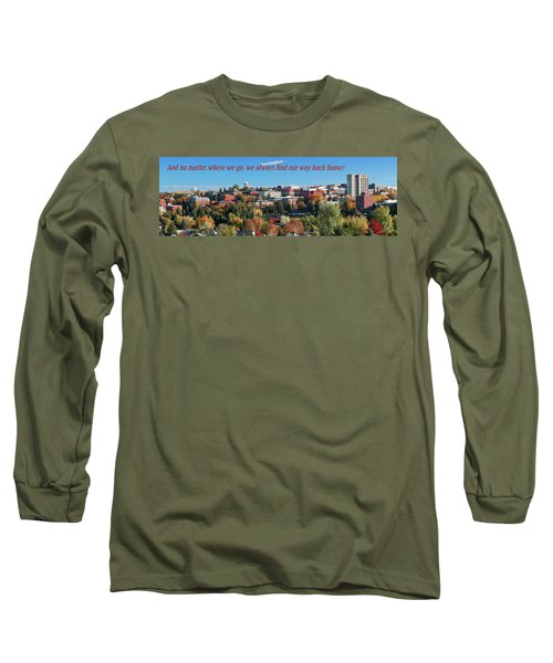 Long Sleeve T-Shirt featuring the photograph Back Home 2 by David Patterson