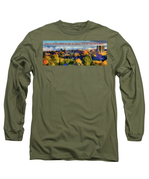 Long Sleeve T-Shirt featuring the photograph Back Home 3 by David Patterson