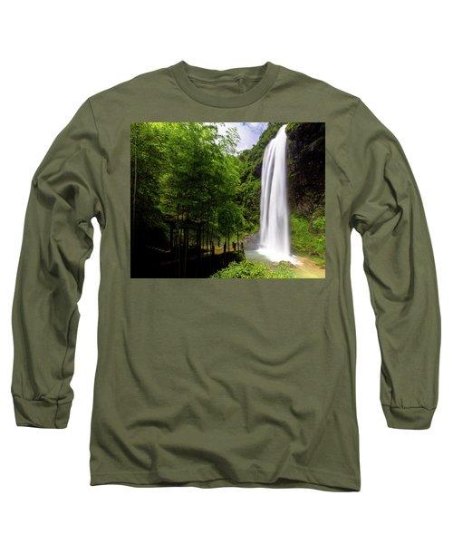 Baiyun Waterfall II Long Sleeve T-Shirt