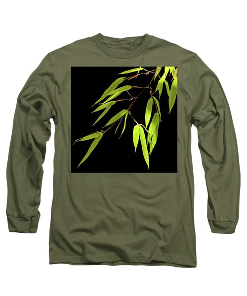 Bamboo Leaves 0580a Long Sleeve T-Shirt