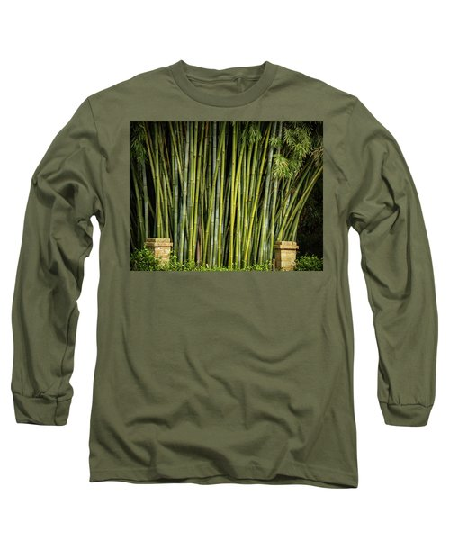 Bamboo Wall Long Sleeve T-Shirt