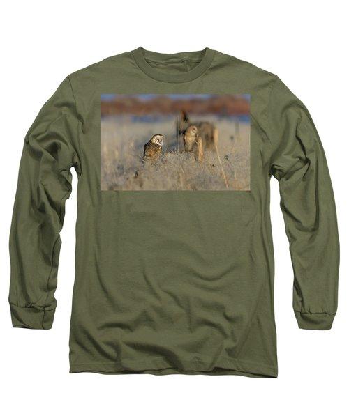Barn Owls 9 Long Sleeve T-Shirt