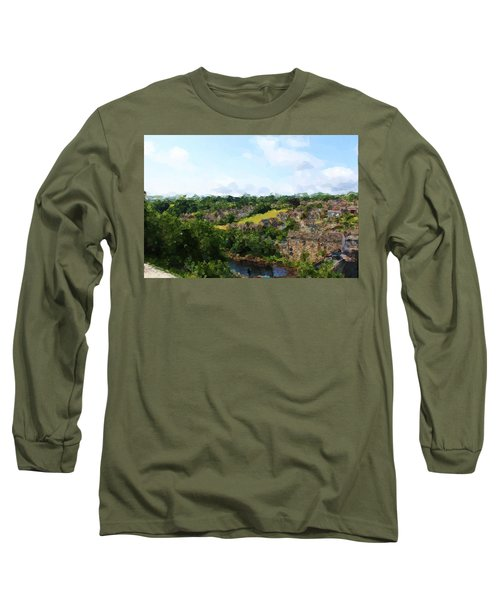 Barnard Castle View Long Sleeve T-Shirt