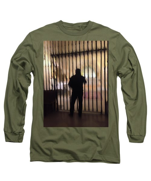 Long Sleeve T-Shirt featuring the photograph Barred From Heaven by Alex Lapidus