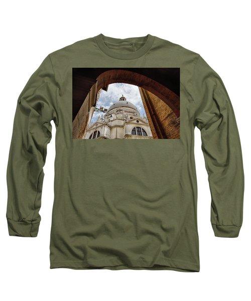Basilica Di Santa Maria Della Salute Venice Italy Long Sleeve T-Shirt