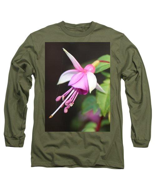 Beautiful Fuchsia Long Sleeve T-Shirt