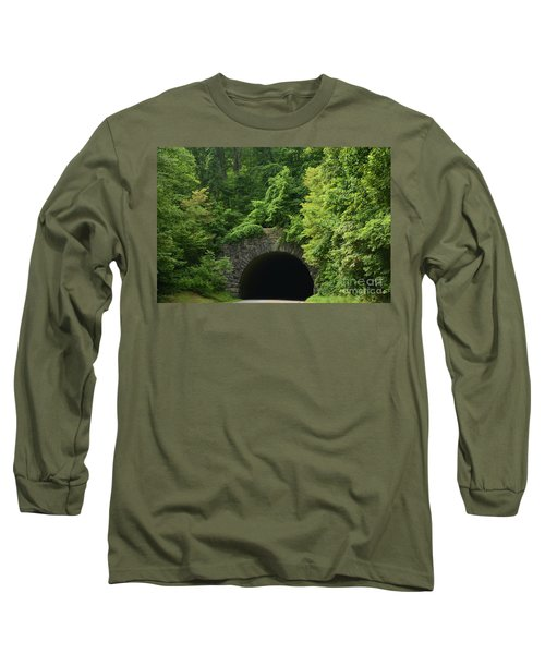 Beautiful Tunnel With Greenery, Nc Long Sleeve T-Shirt