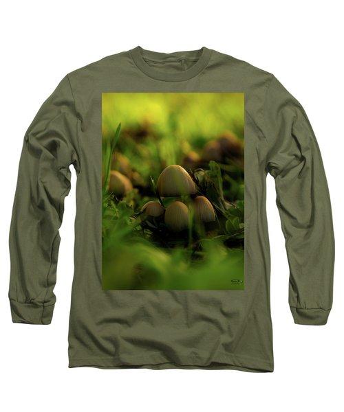 Beauty Of Fungus Long Sleeve T-Shirt
