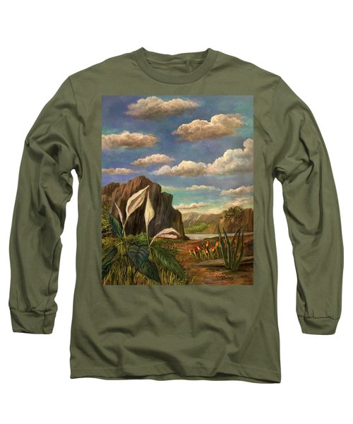 Beneath The Clouds Of Africa Long Sleeve T-Shirt