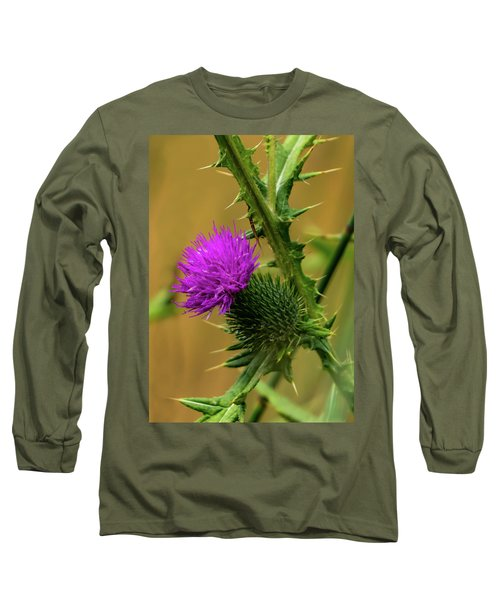 Between The Flower And The Thorn Long Sleeve T-Shirt
