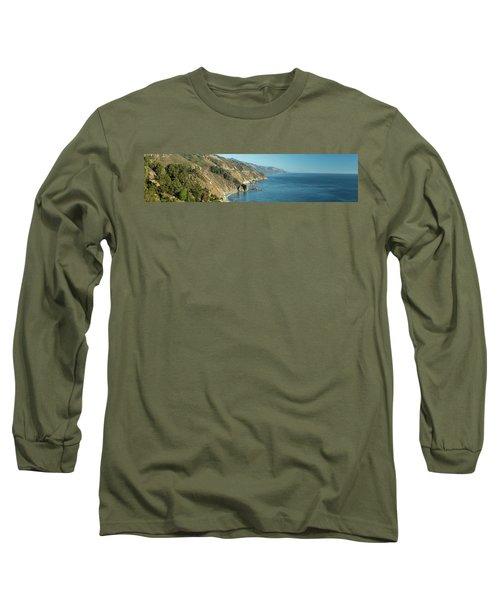 Big Sur Sunset Light Long Sleeve T-Shirt