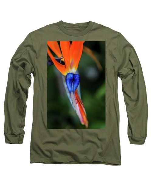 Birds Of Paradise Up Close Long Sleeve T-Shirt
