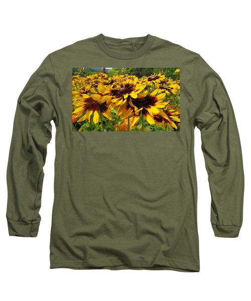 Black-eyed Susan In Your Face Long Sleeve T-Shirt