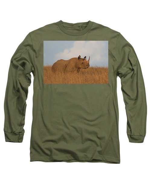 Black Rhino Long Sleeve T-Shirt