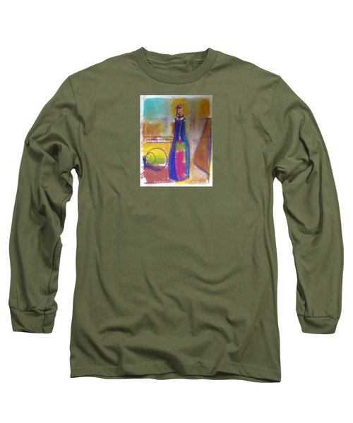 Blue Bottle Long Sleeve T-Shirt