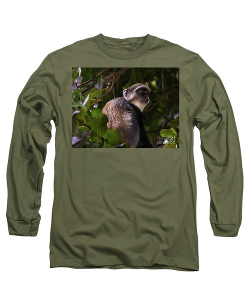 Blue Monkey, Zanzibar Long Sleeve T-Shirt
