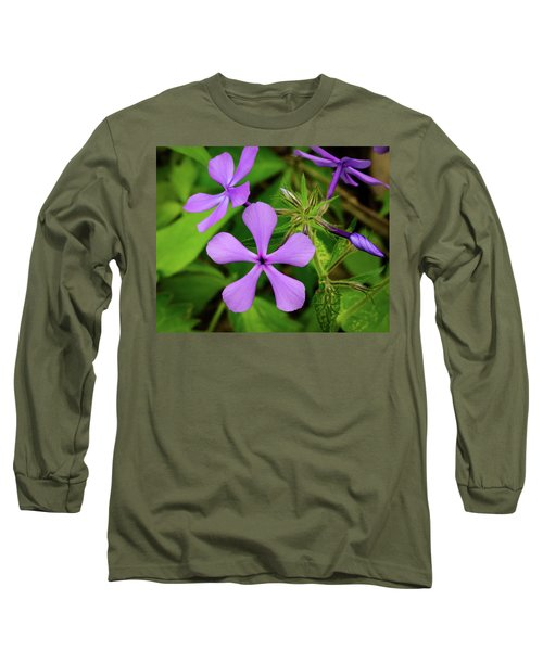 Blue Phlox Long Sleeve T-Shirt
