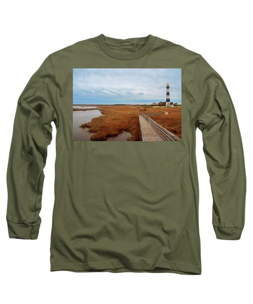 Bodie Island Lighthouse No. 3 Long Sleeve T-Shirt