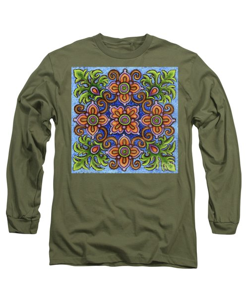 Botanical Mandala 1 Long Sleeve T-Shirt