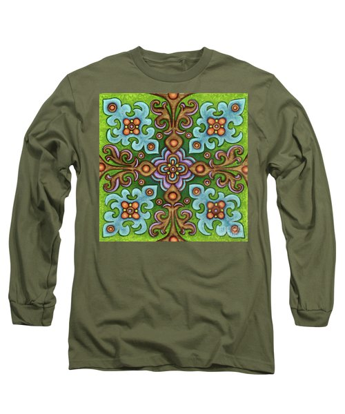 Botanical Mandala 4 Long Sleeve T-Shirt