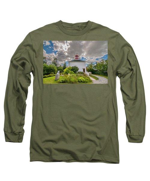 Burntcoast Head Lighthouse  Long Sleeve T-Shirt